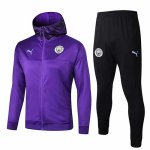 Veste A Capuche Manchester City 19-20 purple