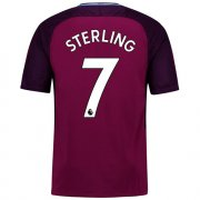 Maillot Manchester City Sterling Exterieur 2017 2018