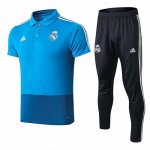 Maillot Polo Real Madrid 19-20 Bleu