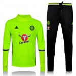 Survetement Chelsea 2016 2017 Fluorescent green