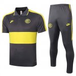 Maillot Polo Inter Milan 2020-21 Grayish yellow