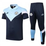 Maillot Polo Manchester City 2020-21 Navy blue