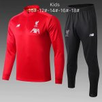 Enfant Survetement Liverpool 19-20 red