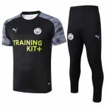 Maillot Survetement Manchester City 19-20 black