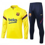 Survetement Barcelone 2020-21 yellow