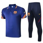 Maillot Polo Barcelone 2020-21 blue