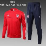 Enfant Survetement Bayern Munich 2017 2018 Gray red