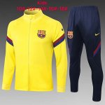 Enfant Veste Barcelone 2020-21 yellow