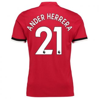 Maillot Manchester United Ander Herrera Domicile 2017 2018