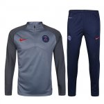Survetement PSG 2016 2017 gray