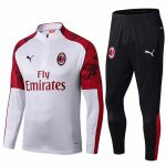 Survetement AC Milan 19-20 Blanc