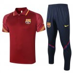 Maillot Polo Barcelone 2020-21 red