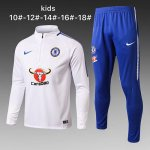Enfant Survetement Chelsea 2017 2018 white