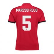 Maillot Manchester United UCL Marcos Rojo Domicile 2017 2018