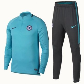 Survetement Chelsea 2017 2018 Light blue