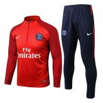 Survetement PSG 2017 2018 Blue Red