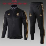 Enfant Veste Real Madrid 19-20 black