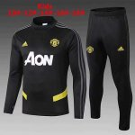 Enfant Survetement Manchester United 19-20 Noir