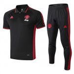 Maillot Polo Manchester United 19-20 black