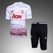 Maillot Survetement Manchester United 2016 2017 Pattern white