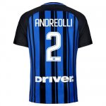 Maillot Inter Milan Andreolli Domicile 2017 2018