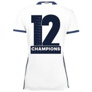 Maillot Real Madrid Femme Accueil 2016-17 Champions 12