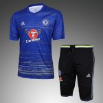 Maillot Survetement Chelsea 2016 2017 Blue pattern