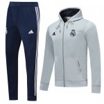 Veste A Capuche Real Madrid 2019-20 gray