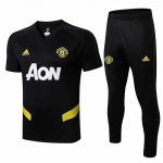 Maillot Survetement Manchester United 19-20 Noir