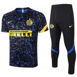 Maillot Survetement Inter Milan 2020-21 Black blue