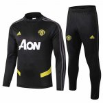 Survetement Manchester United 19-20 Noir