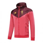 Veste A Capuche Windrunner Liverpool red