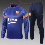 Enfant Survetement Barcelone 2020-21 blue