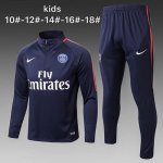 Enfant Survetement PSG 2017 2018 Navy blue