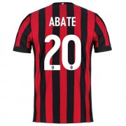 Maillot AC Milan Abate Domicile 2017 2018