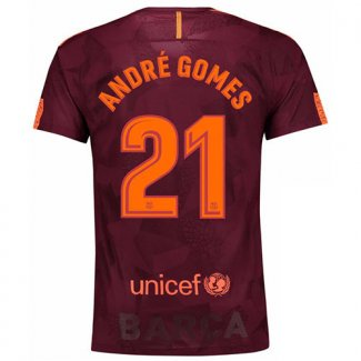 Maillot Barcelone Andre Gomes Third 2017 2018