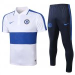 Maillot Polo Chelsea 2020-21 White blue