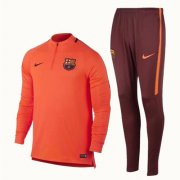 Survetement Barcelone 2017 2018 Orange