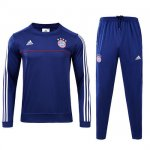 Survetement Bayern Munich 2017 2018 Royal blue