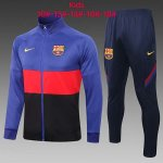 Enfant Veste Barcelone 2020-21 blue