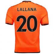 Maillot Liverpool lallana Third 2017 2018