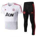 Maillot Survetement Manchester United 18-19 Whiew