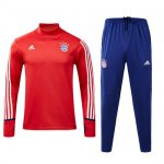 Survetement Bayern Munich 2017 2018 Blue Red