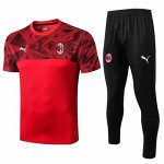 Maillot Survetement AC Milan 19-20 red