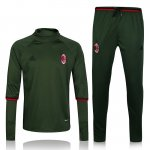 Survetement AC Milan 2016 2017 Arm green