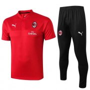 Maillot Polo AC Milan 19-20 red