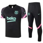 Maillot Survetement Barcelone 2020-21 Black pink