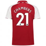 Maillot Arsenal Chambers Domicile 2017 2018