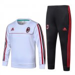 Enfant Survetement AC Milan 2017 2018 white