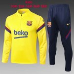 Enfant Survetement Barcelone 2020-21 yellow